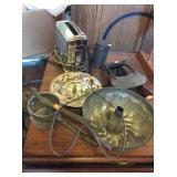 Rug beater, toaster, chopper, cheese box, mold