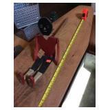 Wooden Black Americana folk art toy