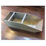 Galvanized bulk bin drawer 11x28x9