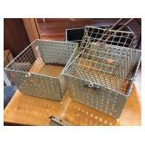 Three Locker Baskets