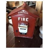 Gamewell Fire alarm box w/key