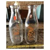 Andes Diary Milk bottles