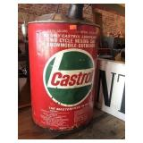 Castrol two cycle mixing can