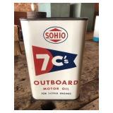 Sohio Outboard motor oil