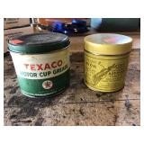 Texaco Grease and Aut-o-pep tablets can