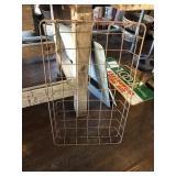 17x29x4 metal basket
