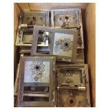 Box of postal box face plates