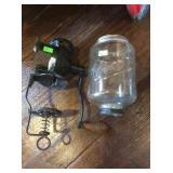 Crystal coffee grinder missing catching jar
