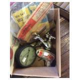 Atomic toy gun American radiator pressure gauge