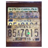 4 license plates