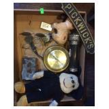 Mouse doll antique eye glasses pickwicks door