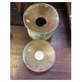 Spittoon and lid