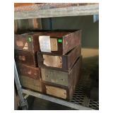 Wooden Storage Bins
