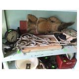 Misc Decor, Clocks & Asst. Items