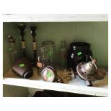 Pressure Regulator, Brown Crock, Vintage Bottles
