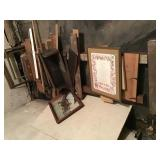 Misc Wood Spindles Picture Frames And Lumber