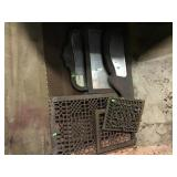 Cast Iron Grates And Mirrors