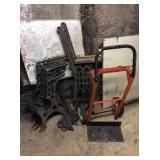 Hand Truck & Cast Iron Seat Brackets