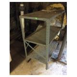 Metal Shelf Rust And Rough