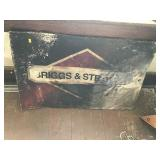 Briggs And Stratton Tin Sign Rough 35x24