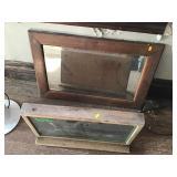 Hidden Valley Ranch Display, Wood Framed Mirror
