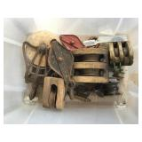 Wood And Steel Pulley Assortment