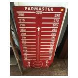 Par Master Board, Hardboard, Damaged On Bottom