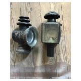 Two Carriage Lights Dietz And Unmarked