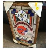 Uf Gators Clock, Bulletin Board Case, No Keys