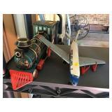 Tin Train And Airplane