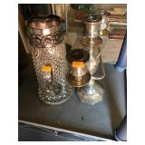 William Adams Candle Holder, Water Pitcher