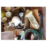 Lamps, Electrical Cord And Light Bulb Assortment