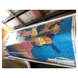 Wall Mount United States Map