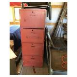 """3 File Cabinets With 4 Drawers 65"""" X 24"""" X 30"""""""