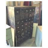 """Steel Organizer Cabinet 36"""" X 19"""" X 59 """""""