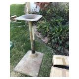 Metal Pedestal 33 In
