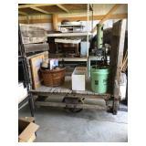 Factory Cart No Contents 57x31x58
