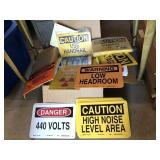 Vintage Sign Assortment