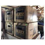 Blatz Beer Boxes With Empty Bottles