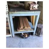 """Work Bench And Wood Flooring 27"""" X 48"""" X 31"""""""