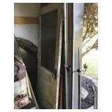 2 Vintage Wood Doors