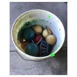 Bucket Of Tee Box Markers