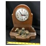 Master Crafters Of Chicago Figurine Clock