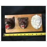 Ceramic animal display