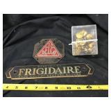 Frigidaire, Delco emblems and uniform jacket