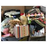 Dolls, medical supplies, flower organizer