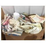 Table linens, doilies, handkerchiefs, large