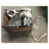 Rabbit feeders, Harley Davidson ratchet straps