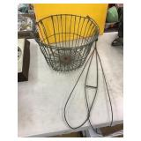 Egg basket and rug beater