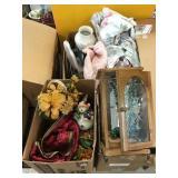 Jewelry box, artificial flower Decor, dirt devil